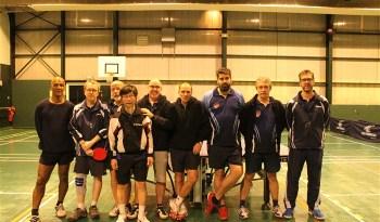 L'équipe de tennis de table de Champagne en déplacement à Epinay-sur-Orge.