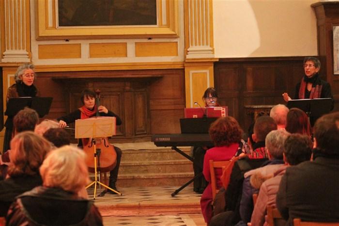 Concert de Noël à Villecerf avec l'ensemble Tornado Assai
