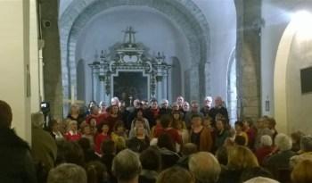 """La chorale """"Le Panier Chantant"""" en concert à Saint-Mammès."""