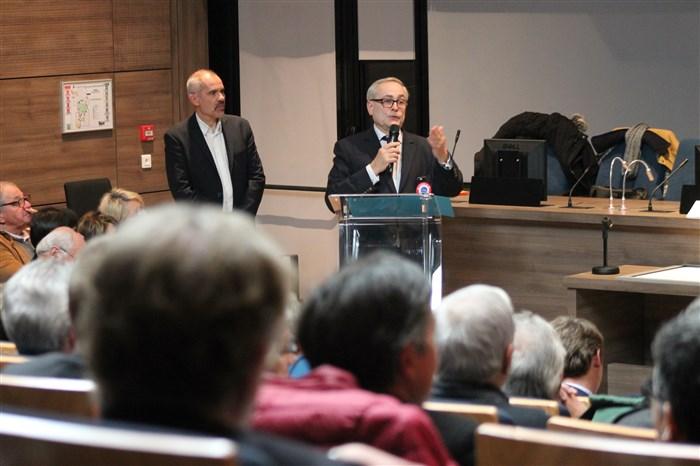 François Deysson, Président de l'Association des Maires Ruraux de Seine-et-Marne.