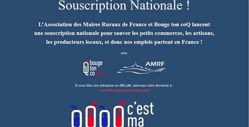Souscription Nationale Covid19