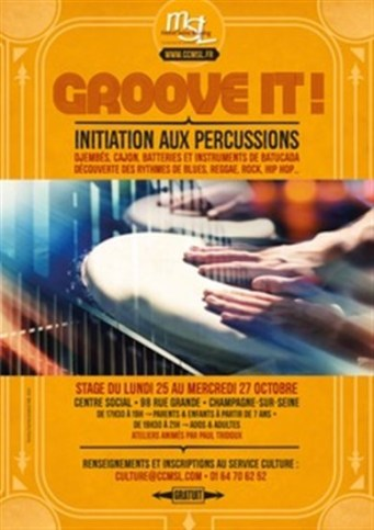 Initiation aux percussions.