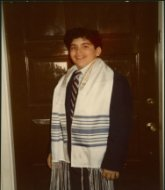 Martin, on the day of his Bar Mitzvah
