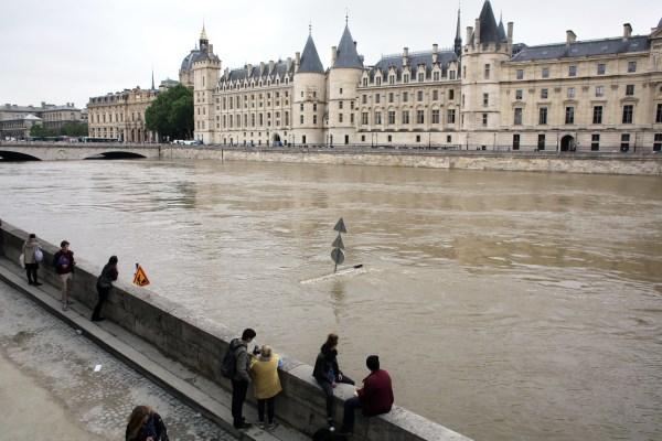 Paris - Seine Highest Level In 35 Years