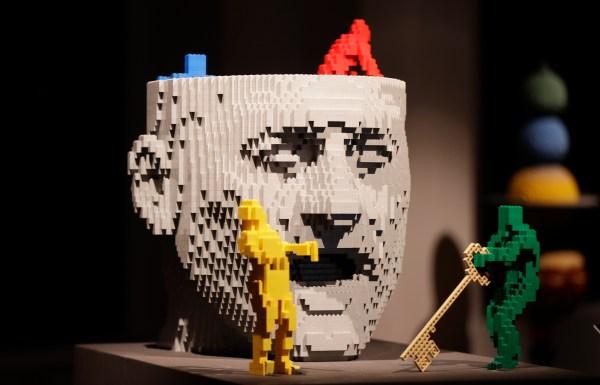 Pics of the Art of the LEGO Brick Sculptures