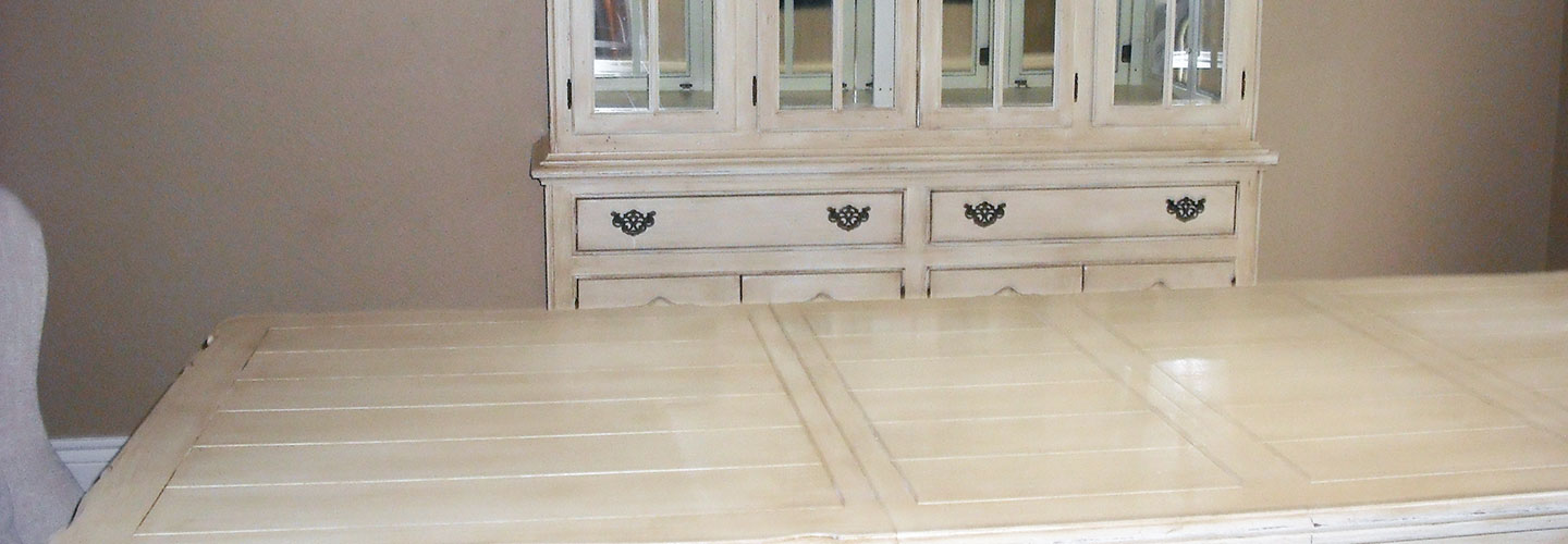 Custom furniture painting for home and business