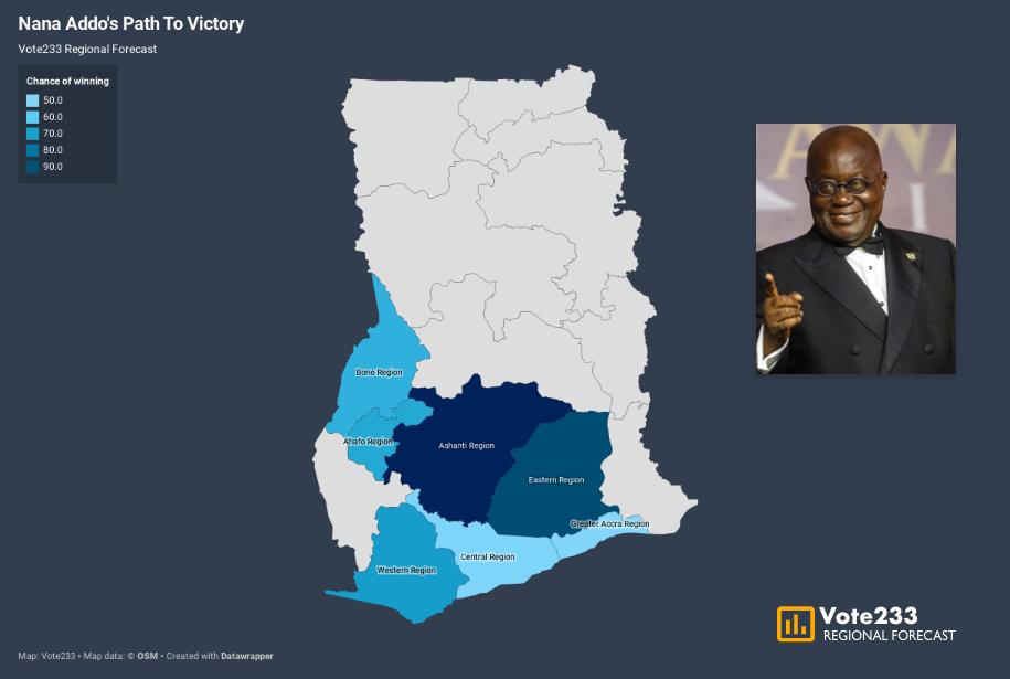 Nana Addo's Path To Re-election