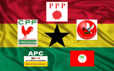 What chances do the 3rd parties have if they were to combine to take on the NPP & NDC?