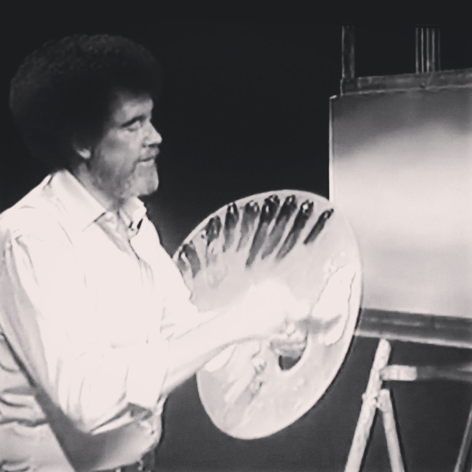 Bob Ross on twitch!!! Yaaaassss #art #arts #bobross #painting Twitch.tv/bobross