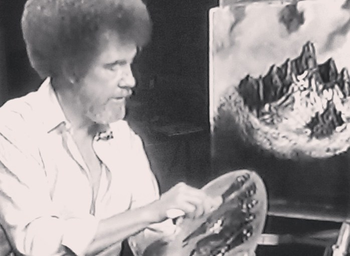 Bob Ross Marathon is Currently on twitch