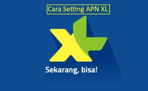 Cara Setting APN XL