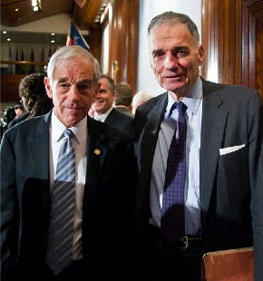 Ron Paul and Ralph Nader, September 10, 2008