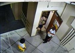 July 30, 2009, entering City Hall at 9:37 PM