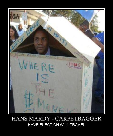 Hans Mardy - Carpetbagger