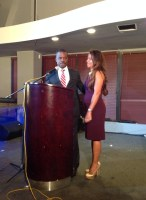 Mayor and First Lady