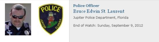 Police Officer Bruce Edwin St. Laurent