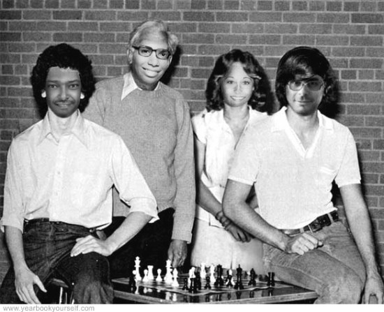 Aleem was also grandmaster of the high school chess team.