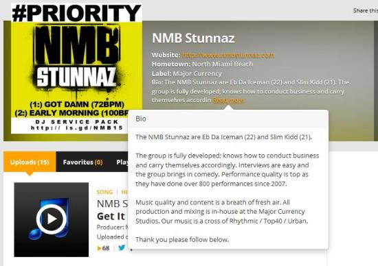 Audiomack NMB Stunnaz
