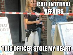 Call Internal Affairs
