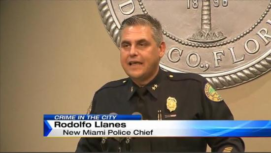 Chief Rodolfo Llanes