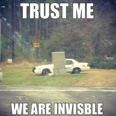 we are invisible
