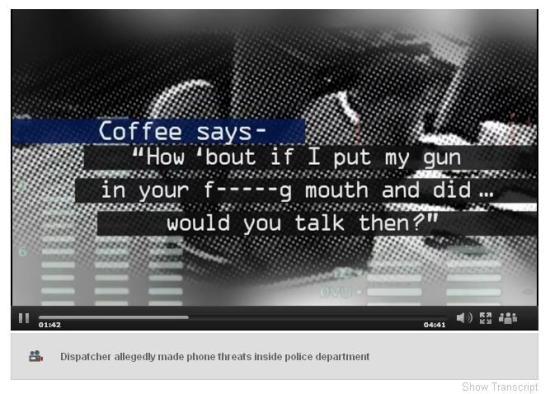 Coffey threat