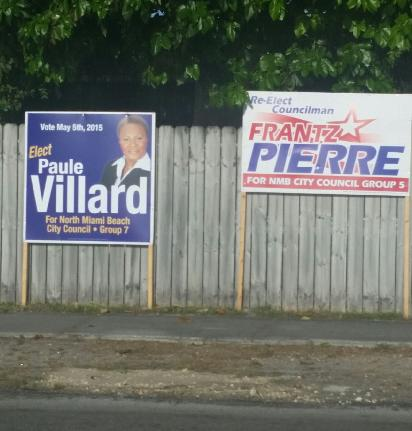 Villard Pierre sign violations