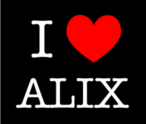 I love Alix