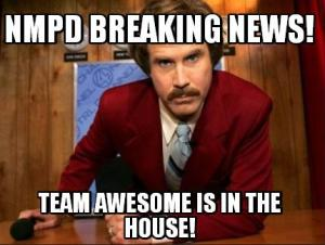 NMPD TEAM AWESOME