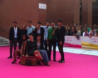Roles: il cast sul carpet del Roma Fiction Fest