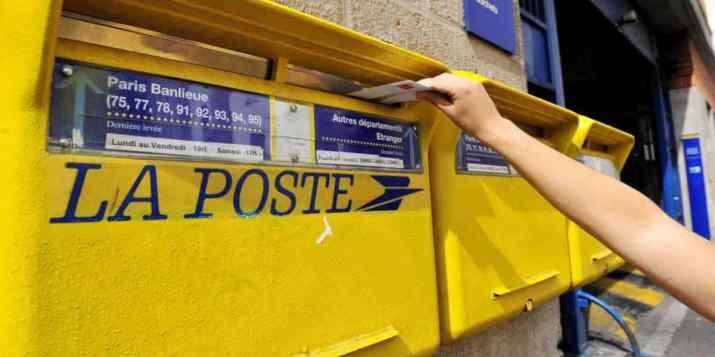 Le prix des timbres et des colis de La Poste vont augmenter le 1er janvier 2022