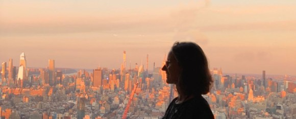Elisa et New York  l'horizon positif