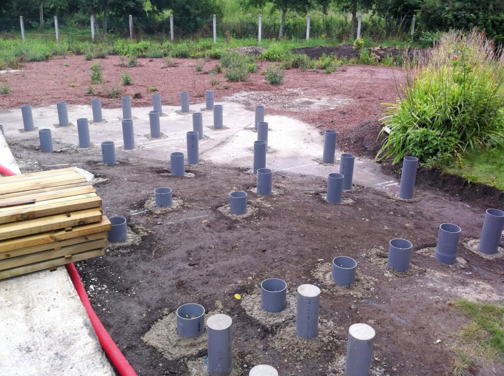 Terrasse Bois Composite Sur Plots Beton Nos Conseils Realiser Une Terrasse En Bois Sur Plot
