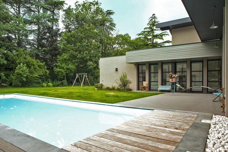 Terrasse contemporaine design  Nos Conseils