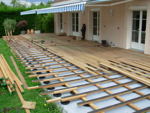 Guide dalle beton cout dalle bton with guide dalle beton for Cout terrasse bois