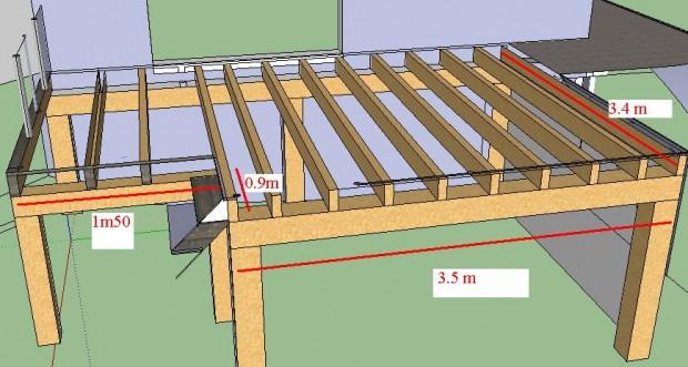 Terrasse suspendue etanche moregs - Rendre une terrasse etanche ...