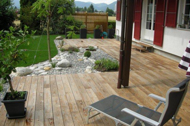 Terrasse Jardin Idee L ~ Modele De Terrasse En Bois