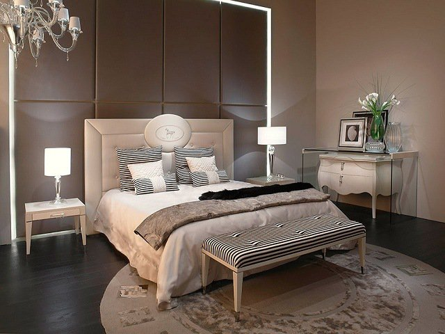 Dco chambre creme chocolat  Exemples damnagements