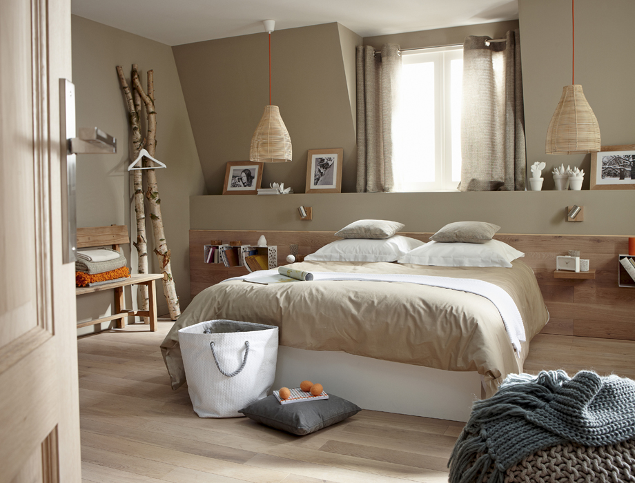Dco chambre nature  Exemples damnagements