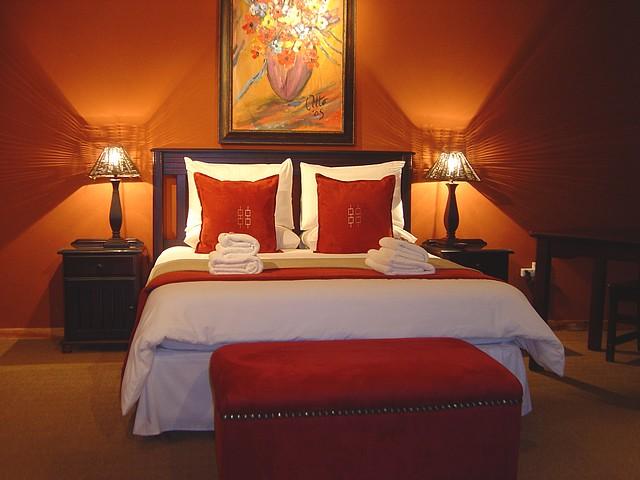 Chambre Orange Et Noir - Décoration de maison idées de design d ...