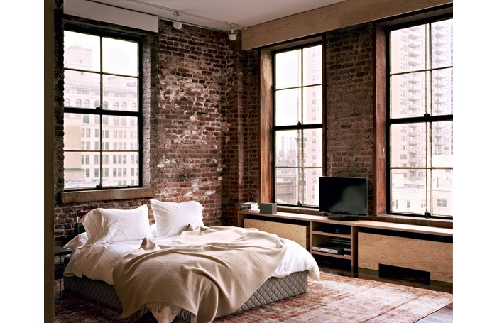 Dco chambre style loft  Exemples damnagements