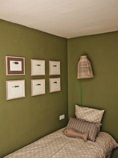 Chambre Vert Olive
