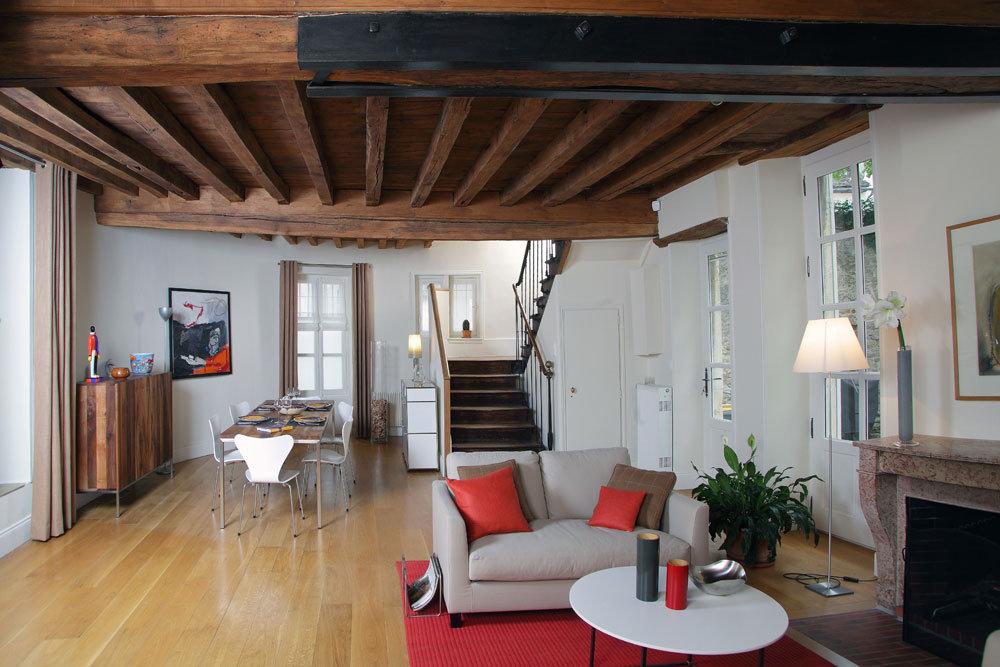 Beautiful Decoration Maison Ancienemoderne Ideas - House Design ...