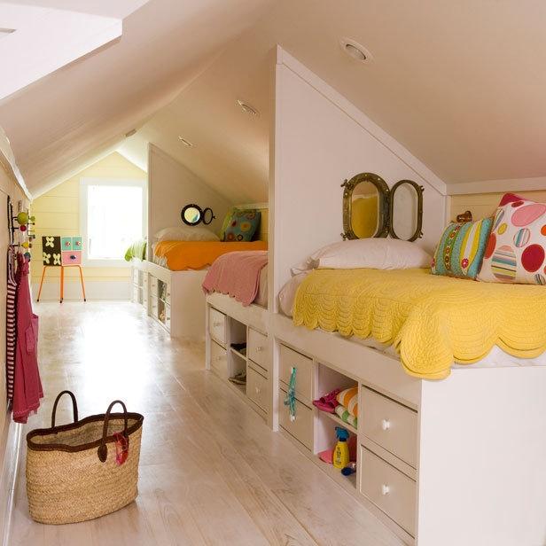Chambre Mansardee Ado - Décoration de maison idées de design d ...