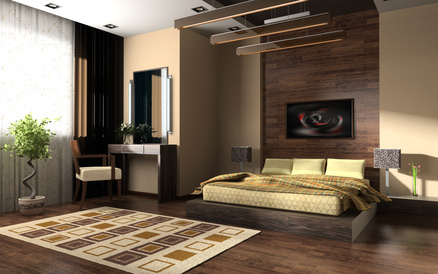 Dcoration chambre theme nature  Exemples damnagements