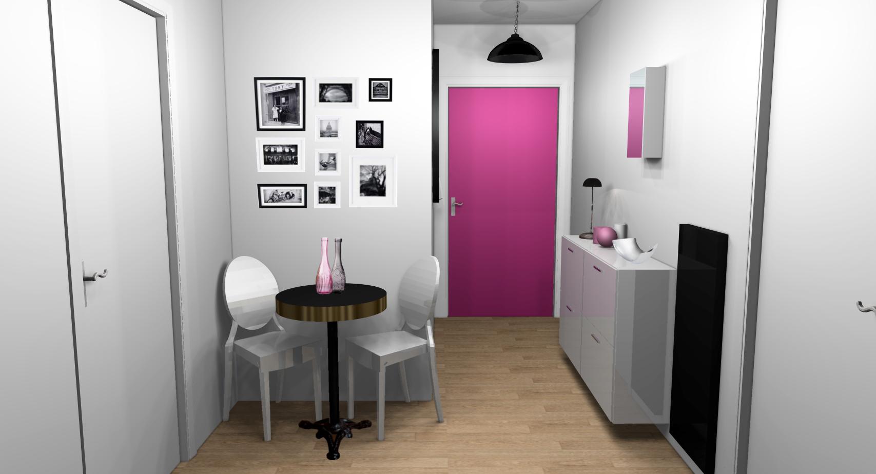 Dcoration entree design  Exemples damnagements