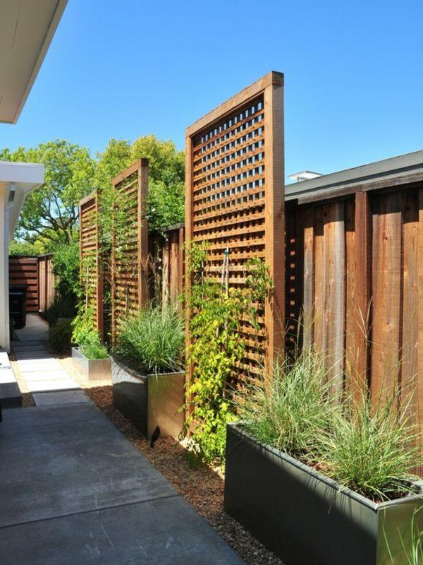 Dcoration jardin treillis  Exemples damnagements