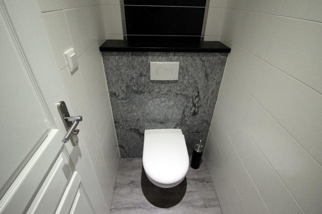 Dcoration wc suspendu  Exemples damnagements