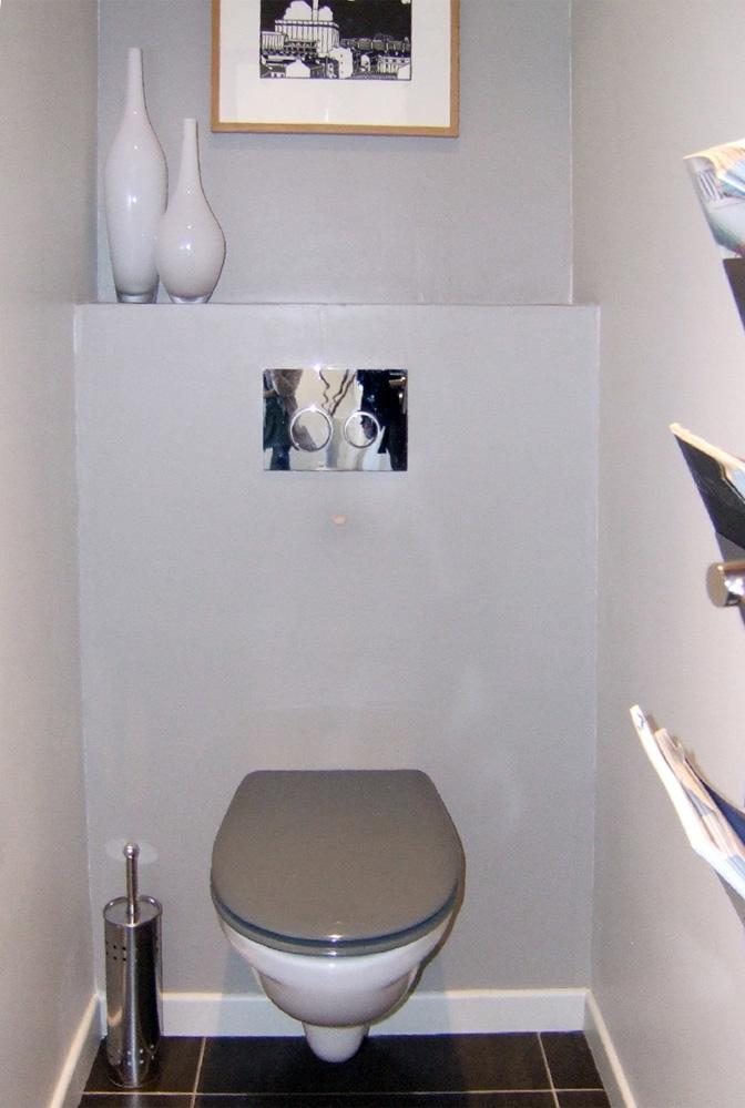 dcoration toilettes suspendues