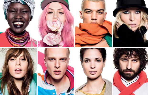 Pub Benetton été 2013 - couleurs
